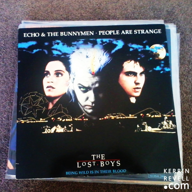 The Lost Boys - echo and the bunnymen - people are stange